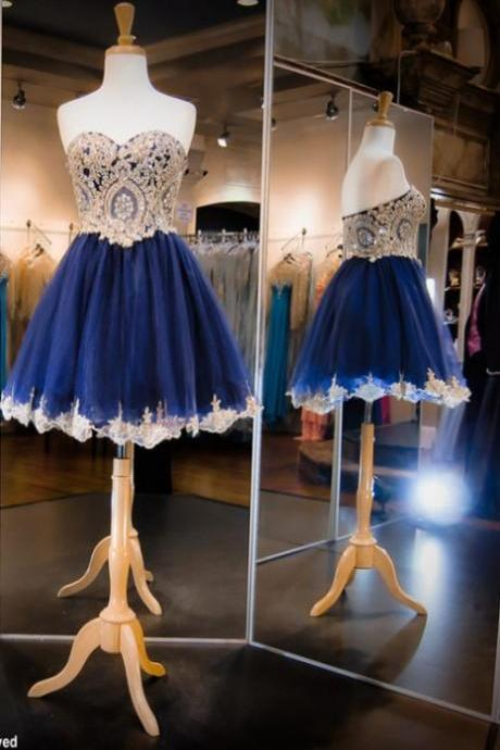 Short Princess Homecoming Dresses Sleeveless Sweetheart Short/Mini Crystal Cheap Zipper Dresses