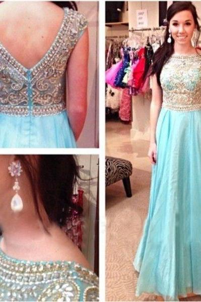 Unique prom dress, Chiffon prom dress, Prom dress 2017, Cheap prom dress,PD380090