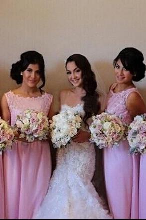 Cheap bridesmaid dress,chiffon bridesmaid dresses,Sexy lace bridesmaid dress,custom A line bridesmaid dresses,15042405