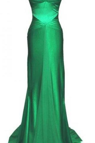 dark hunter green prom dress, long prom dress,mermaid prom dress,spaghetti straps prom dress, sexy evening dress