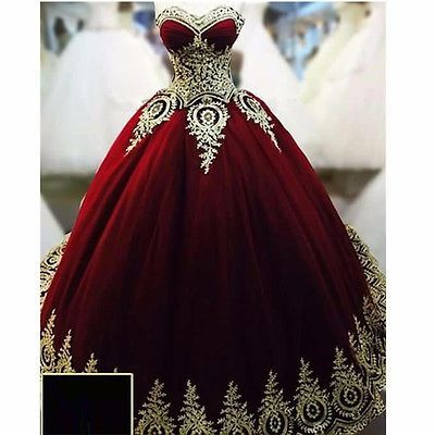 Charming Prom Dress Ball Gown Burgundy Prom Dress New Gorgeous burgundy lace Sweet 16 Gowns Quinceanera Dresses