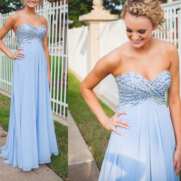 Empire Waist Cheap Prom Dresses,Sweetheart Bodice Formal Women Dress,Maternity Pregnant Prom Dress